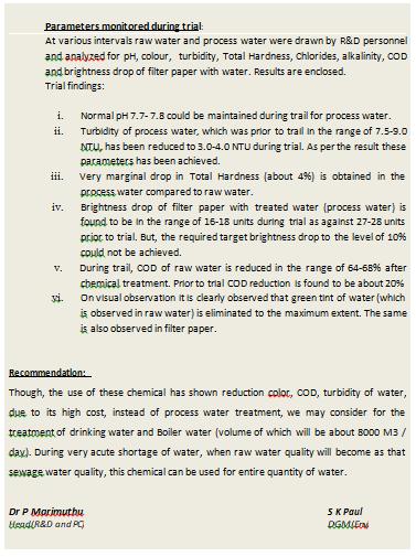 Waste Water Treatment – CALA CASA